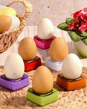 Akrilik Renkli Yumurtalık