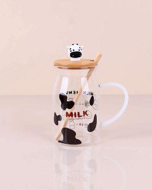 Cam Süt Kupası