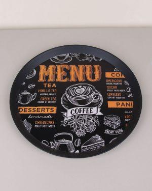 Plastik Coffee Tepsi