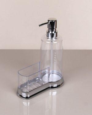 Plastik Süngerli Sıvı Sabunluk