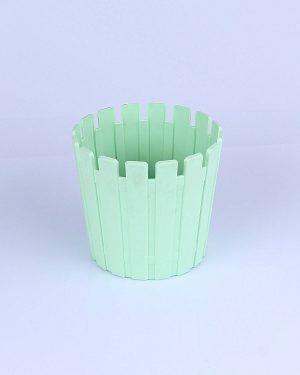 Plastik  Yuvarlak Orta Saksı