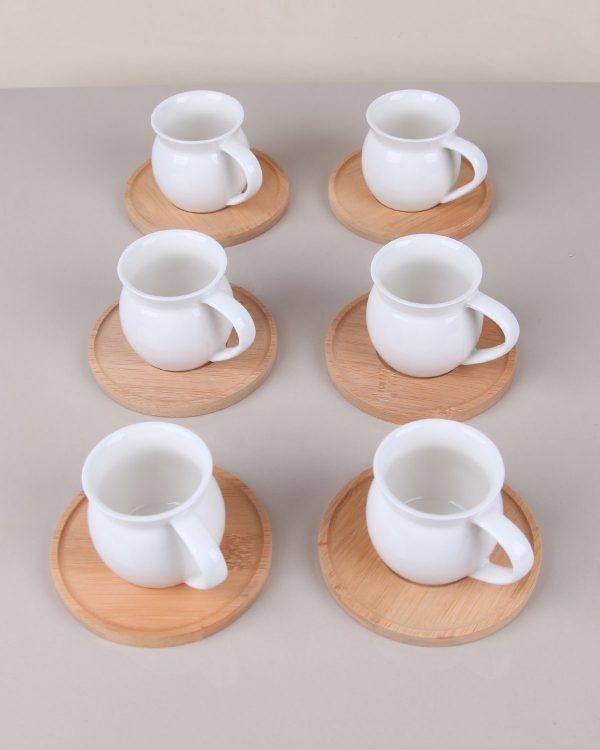 Bambu Kahve Fincanı