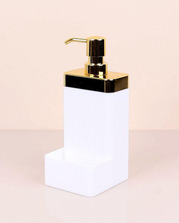 Lisbone White Gold Sıvı Sabunluk
