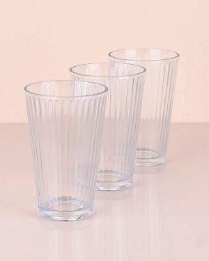 Meşrubat Bardağı Üçlü