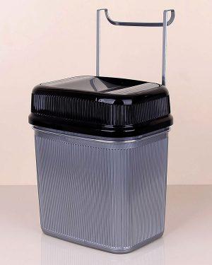 Askılı Dolap İçi Çöp Kovası Krom