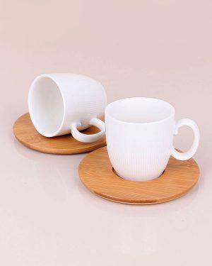 Porselen İkili Kahve Seti